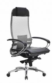 Кресло SAMURAI S-1.03 Серый с чехлом CSm-25