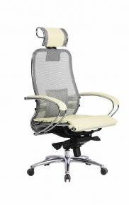 Кресло SAMURAI S-2.03 Бежевый с чехлом CSm-25