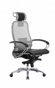 Кресло SAMURAI S-2.03 Серый с чехлом CSm-25