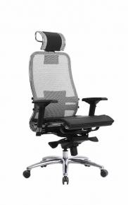 Кресло SAMURAI S-3.03 Серый с чехлом CSm-25