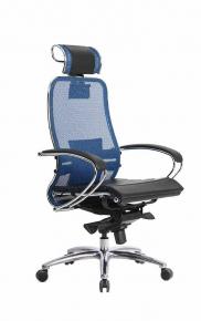 Кресло SAMURAI S-2.03 Синий с чехлом CSm-25