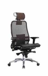 Кресло SAMURAI S-3.03 Темно-коричневый с чехлом CSm-25