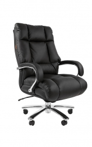 Офисное кресло Chairman 405 кожа черное