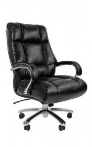 Офисное кресло Chairman 405 экопремиум черное