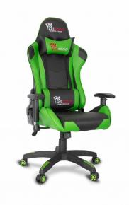 Геймерское кресло College CLG-801LXH Green