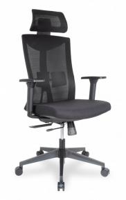 Кресло College CLG-428 MBN-A Black