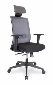 Кресло College CLG-429 MBN-A Grey