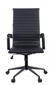Кресло Everprof Rio Black T экокожа черный