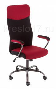 Кресло Woodville Aven красно-черное