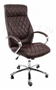 Кресло Woodville Monte темно-коричневое