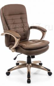 Кресло Woodville Palamos коричневое