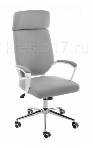Кресло Woodville Patra grey fabric