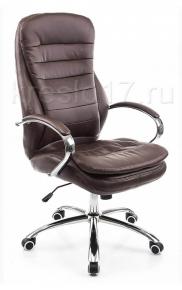 Кресло Woodville Tomar коричневое