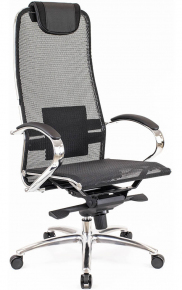 Кресло Everprof Deco Сетка Черный