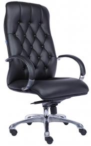Кресло Everprof Monaco Экокожа Черный