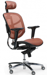 Кресло Norden / Стартрек / оранжевая сетка