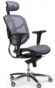 Кресло Norden / Стартрек / серая сетка