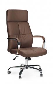 Кресло офисное Norden / Алекс / (brown) темно-коричневая экокожа