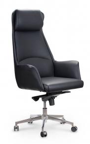 Кресло офисное Norden / Министр / черная экокожа