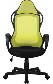 Кресло руководителя Alsav AL 768 черный/зеленый