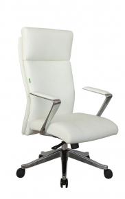 Кресло Riva Chair А1511 белый натуральная кожа