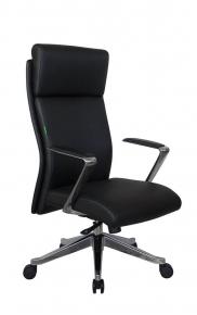 Кресло Riva Chair А1511 черный натуральная кожа