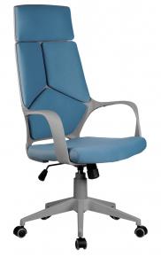 Кресло Riva Chair 8989 серый пластик - синий