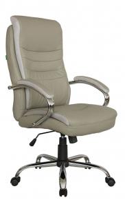 Кресло Riva Chair 9131 серо-бежевый