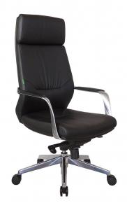 Кресло Riva Chair А1815 черный натуральная кожа