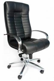 Кресло Everprof Atlant AL M (Кожа) Черный