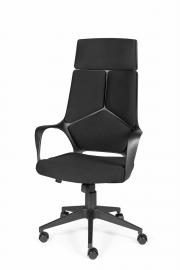 Кресло офисное Norden / IQ / (full black) черный пластик / черная ткань