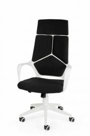Кресло офисное Norden / IQ / (white+black) белый пластик / черная ткань