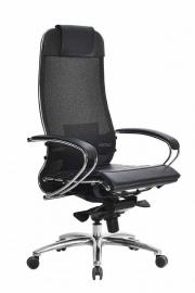 Кресло SAMURAI S-1.03 Черный Плюс с Чехлом CSm-25