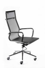 Кресло офисное Norden / Хельмут / (black) сталь + хром / черная сетка