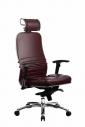 Кресло SAMURAI  KL-3.02 Темно-бордовый